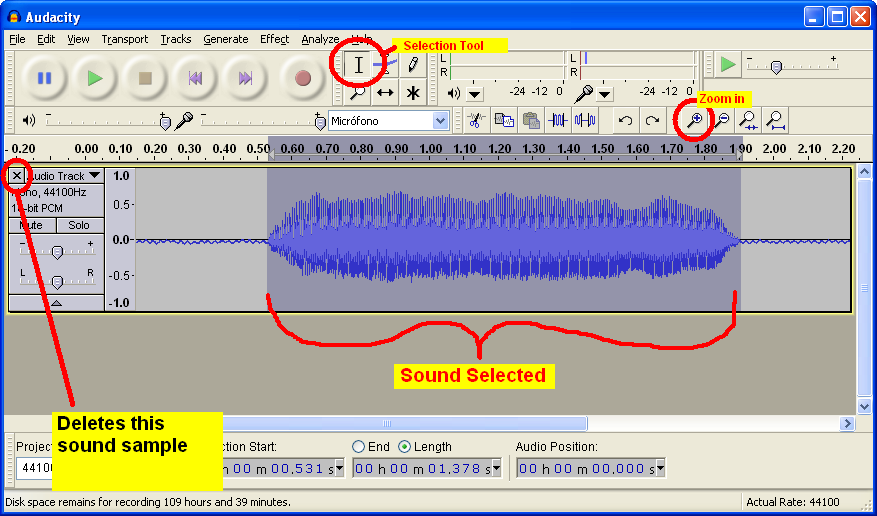 """""""Recording a voicebank with Audacity"""" For Dummies Audacity_step8"""