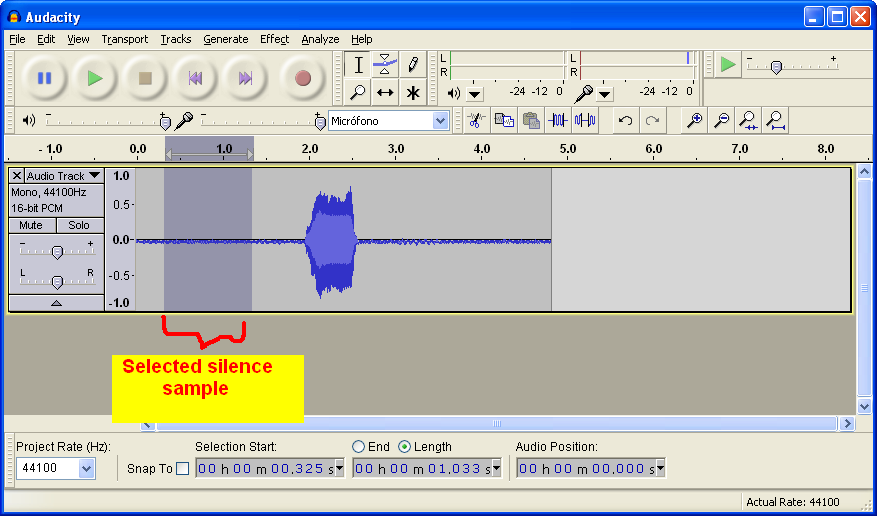 """""""Recording a voicebank with Audacity"""" For Dummies Audacity_step9a"""