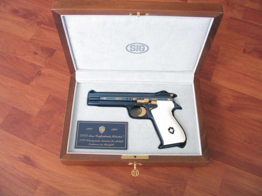Un SIG P210... Arme1110