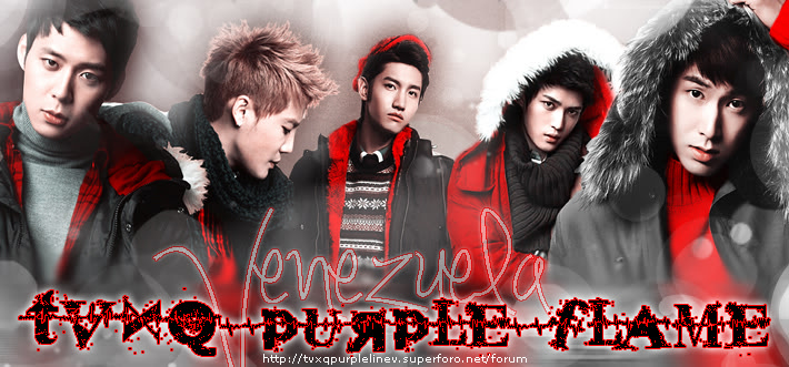 TVXQ Purple Flame VENEZUELA