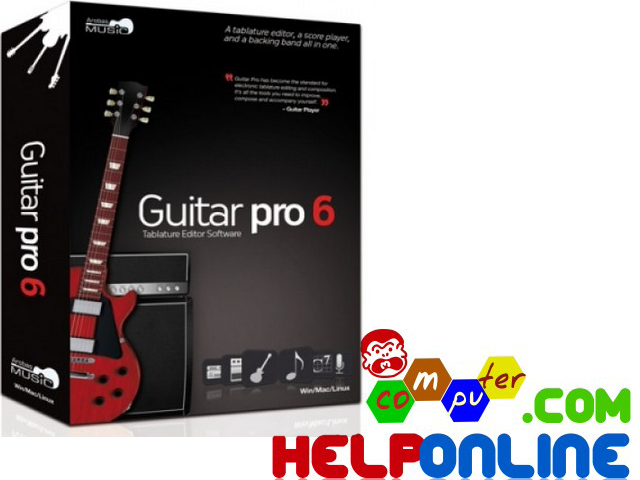 Guitar Pro 6 Full + Soundbank!  Guitar