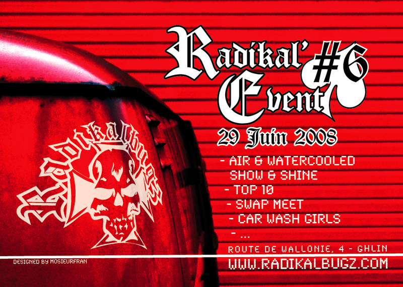 Radikal'event 6 = 29 juin 2008 = Flyerradikalevent6