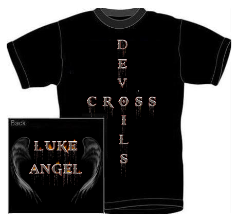 Luke Angel Gimmick Luke-angel-t-shirt