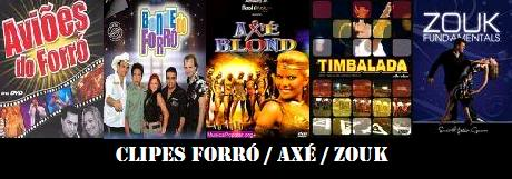 Clipes / Shows - Forró / Axé / Zouk