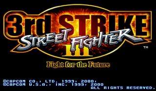 لعبة فتوات الشوارع Street Fighter III 3rd Strike SFIII3rdStrike_01