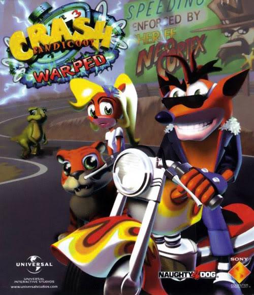 جميع إصدارات لعبة السيارات الرائعة Crash Bandicoot PS1 .. تحميل مباشر وعلى أكثر من سرفر Crabandicoot3warped_01