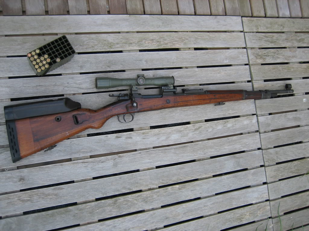 FN sniper K98, matching serials 20100421_0330