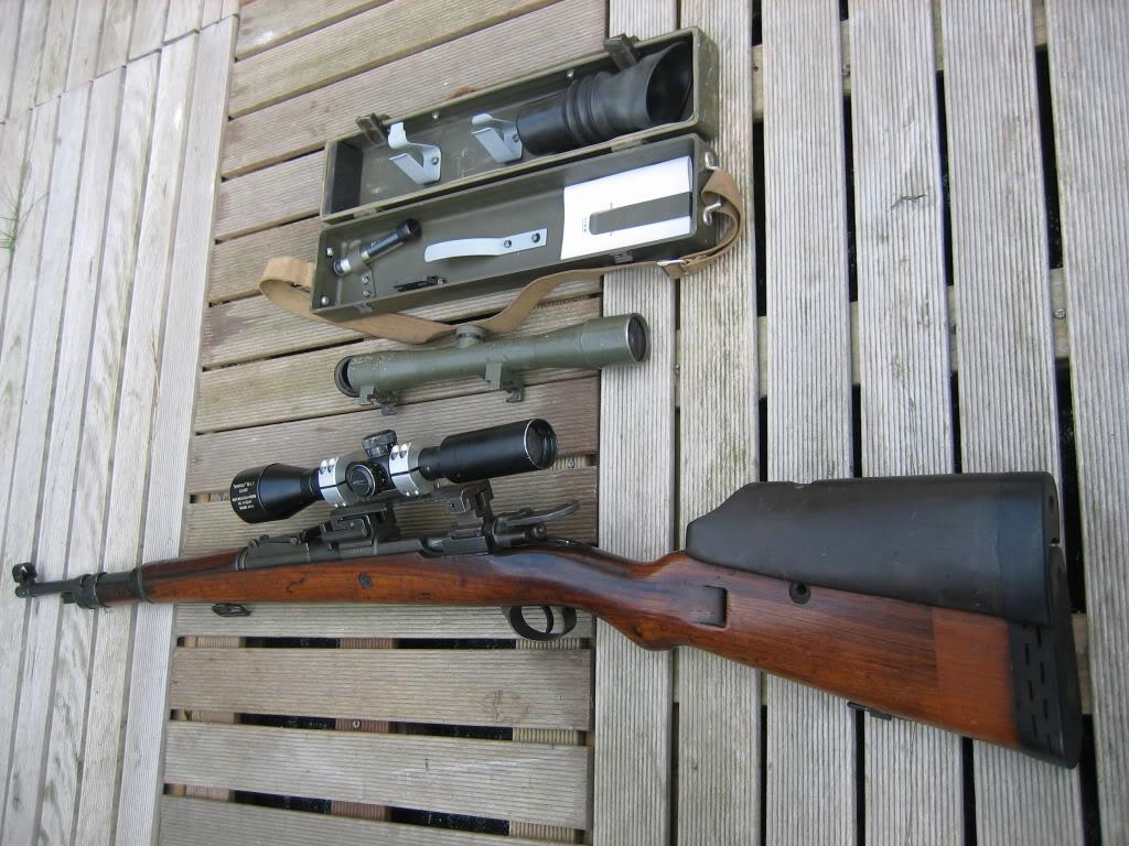 FN sniper K98, matching serials 20100421_0339