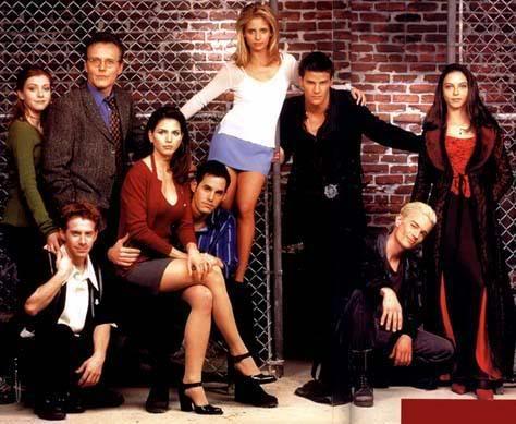 Фен тема: Buffy the vampire slayer Buffy
