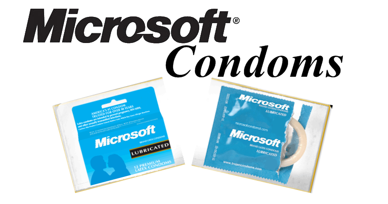 Bunch of crap by Wert Ac MicrosoftCondoms