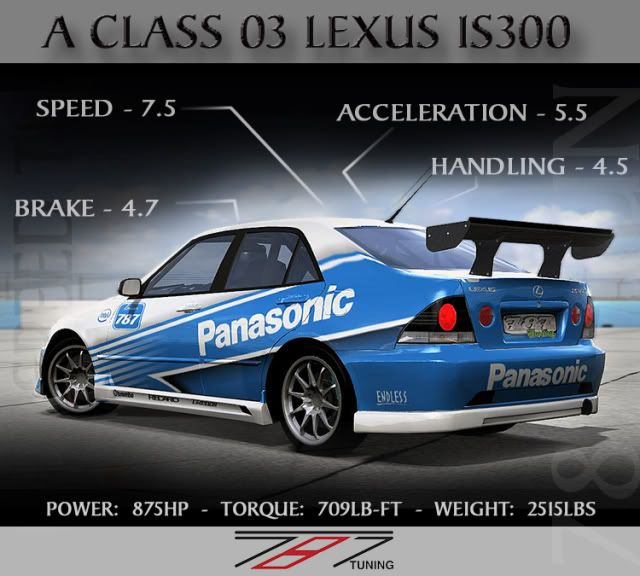 787 Tuning Cataloge Ver 2.0 *All Cars I Think* - Page 2 LEXUSIS300