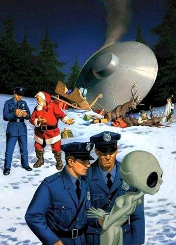 UNOS SERÁN TOMADOS Y OTROS DEJADOS....¡¡ASÍ DICE LA BIBLIA!! Santa-ufo