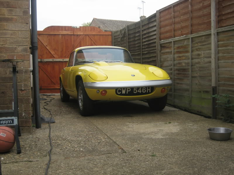 Lotus Elan FHC 1966 for restoration IMG_5341