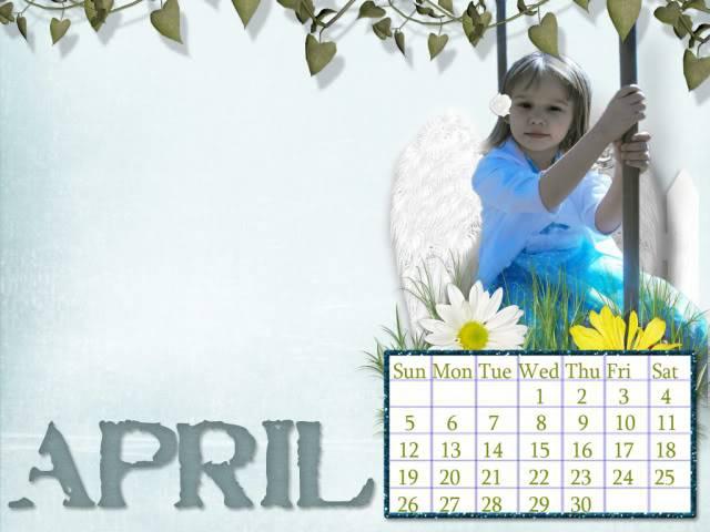 April Calendar Challenge Aprilcalendar