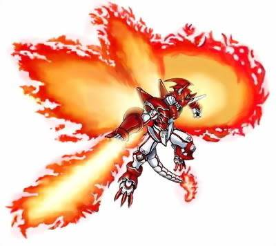 Create your Own Bakugan Shinegreymon_burst