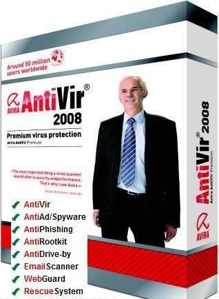 مكافح الفيروسات القوى و الشهير Avira بأصداره الاخير ويعمل حتى عام 2014 Antivir