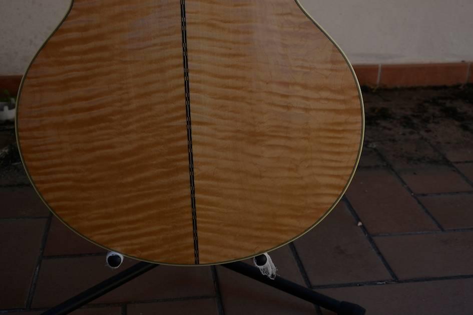 VDS ECH Gibson J200 Montana Gold Flame --- ECHANGEE--- _EMI2021_zps91d2055e