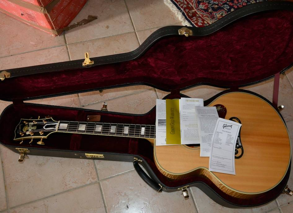 VDS ECH Gibson J200 Montana Gold Flame --- ECHANGEE--- _EMI2028_zps61c2f1ad