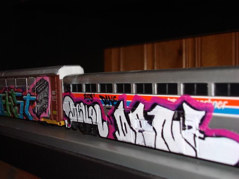 Trenes a escala con GRAFFITIS! DSC03745