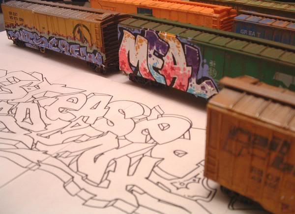 Trenes a escala con GRAFFITIS! Boxcar_3
