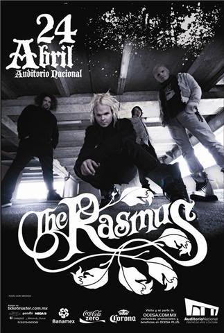 The Rasmus ~ Arte24abril