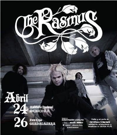 The Rasmus ~ Artedosfechas-1
