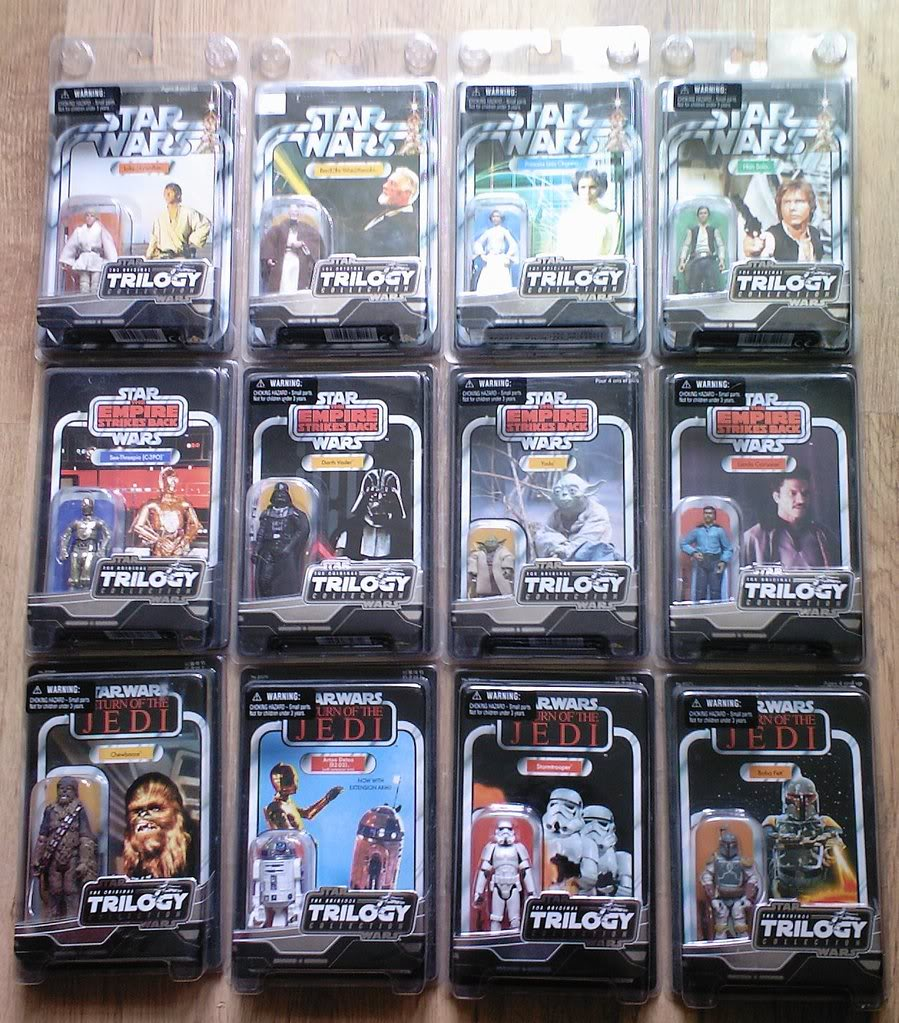 FS: All 12 MOC's form the VSTC Vintage Saga Trilogy Collection 2005/06 inc Lucas Stormie Photo-0022