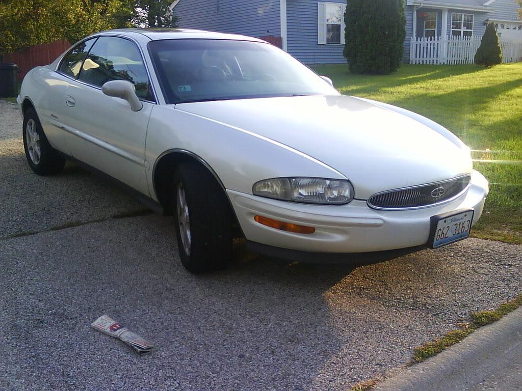My '99 Pearl White Riviera. Torpedonikkuh