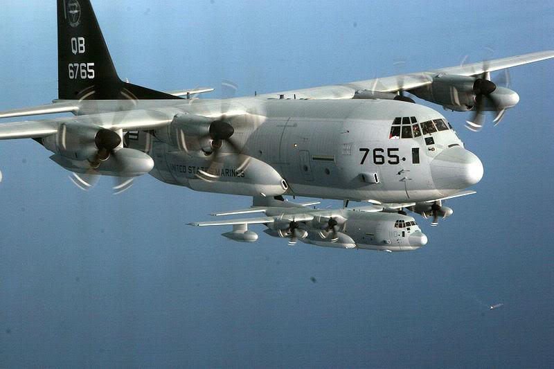 الكويت تشتري طائرات النقل/الصهريج kc-130j KC-130J