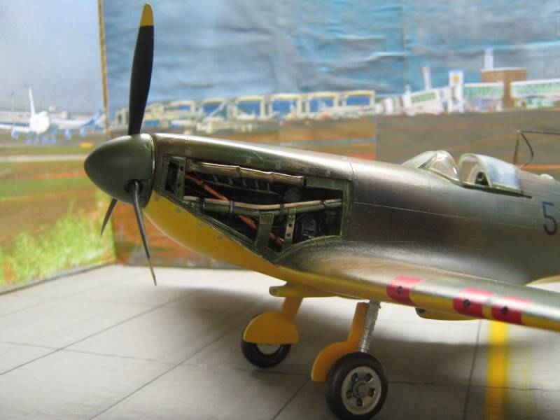 Spitfire MK I Revell 1/32 Captured by Nazi's IMG_3284