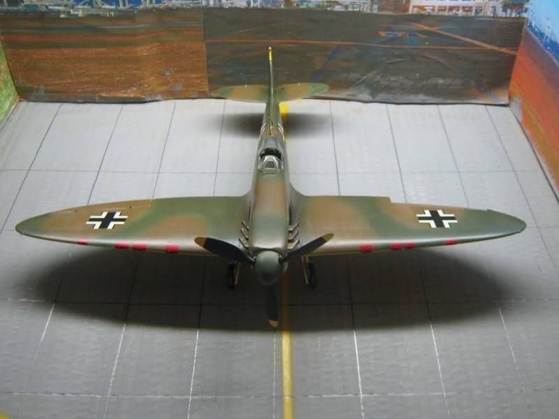 Spitfire MK I Revell 1/32 Captured by Nazi's IMG_3290