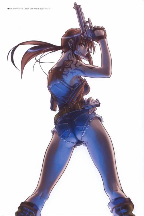 Cartoon Central: Black Lagoon LargeAnimePaperscans_Black-Lagoon_l