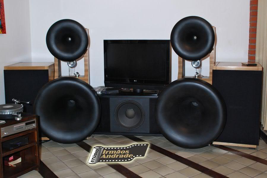 meu systema full horn 5 vias Som3