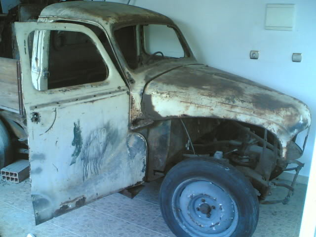 Austin A 40 1951 ute pick up (projecto) 12042008