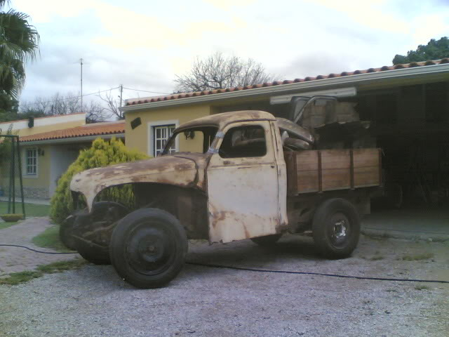 Austin A 40 1951 ute pick up (projecto) 23052008
