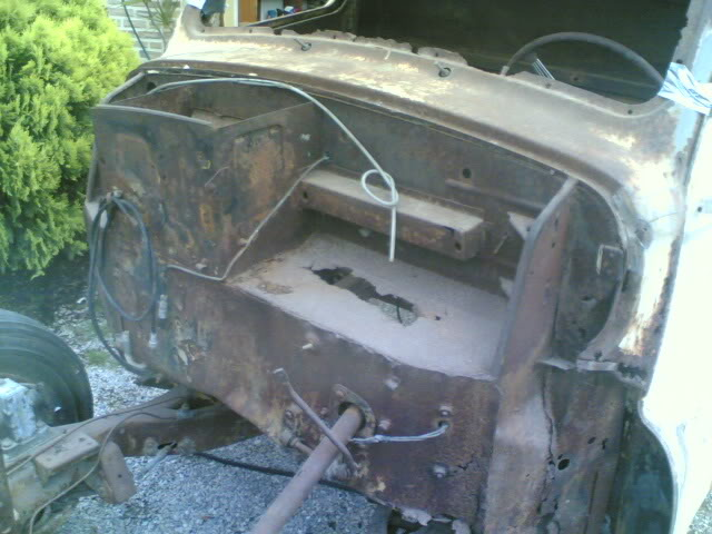 Austin A 40 1951 ute pick up (projecto) 23052008016