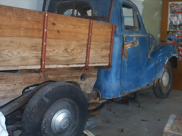 Austin A 40 1951 ute pick up (projecto) PIC_0001-5
