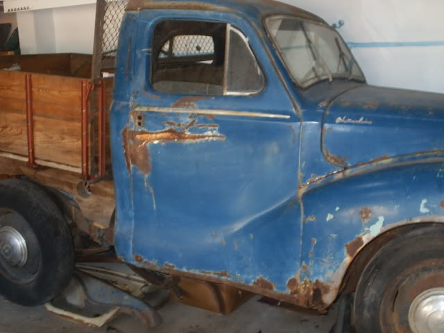 Austin A 40 1951 ute pick up (projecto) PIC_0004-5
