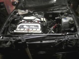 My Corrado Project Engine1stfitting