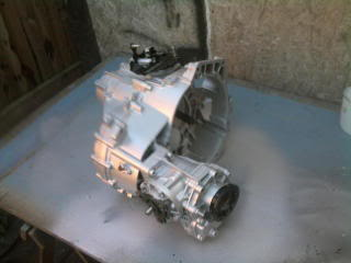My Corrado Project Gearboxpainted1