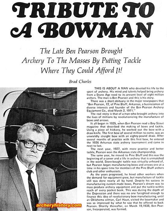Fred Bear et les legendes de la chasse à l'arc  - Page 2 Bp