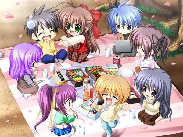 اليوم فكرت بفكرة جديده لكم   - صفحة 4 Friends_anime