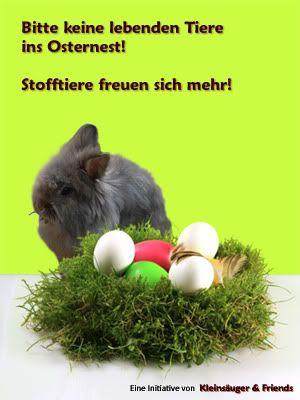 Initiative 2012: Nicht unüberlegt Tiere zu Ostern verschenken! KF-InitiativeOsternStoffklein