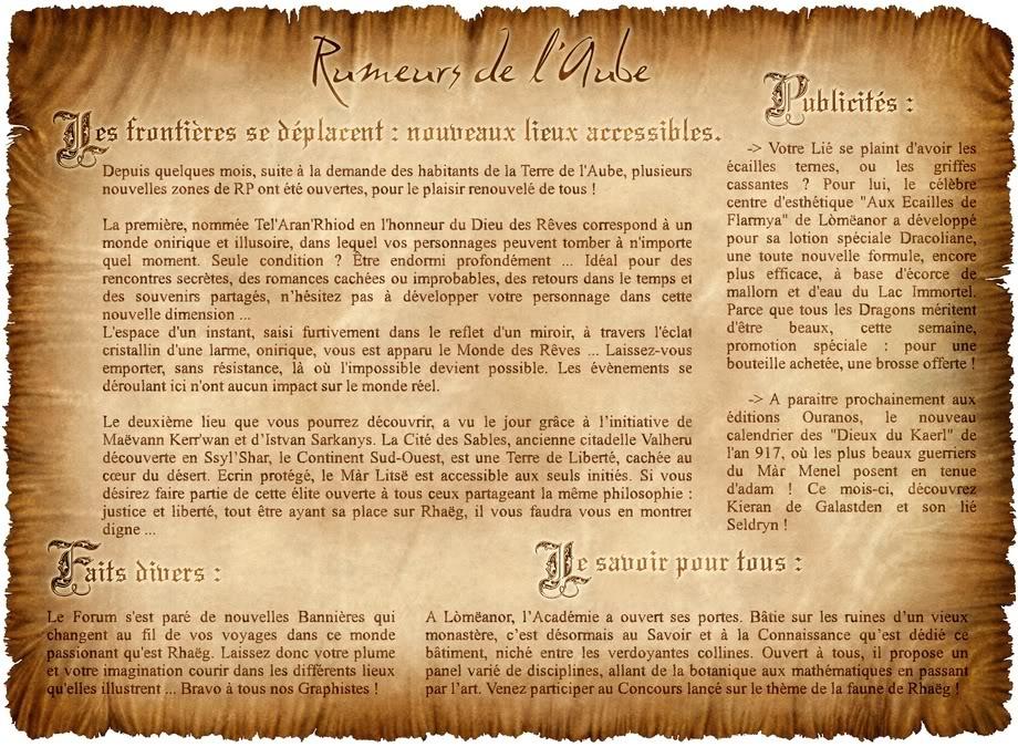 [NEWS] Rumeurs et murmures de l'Aube MdAF2