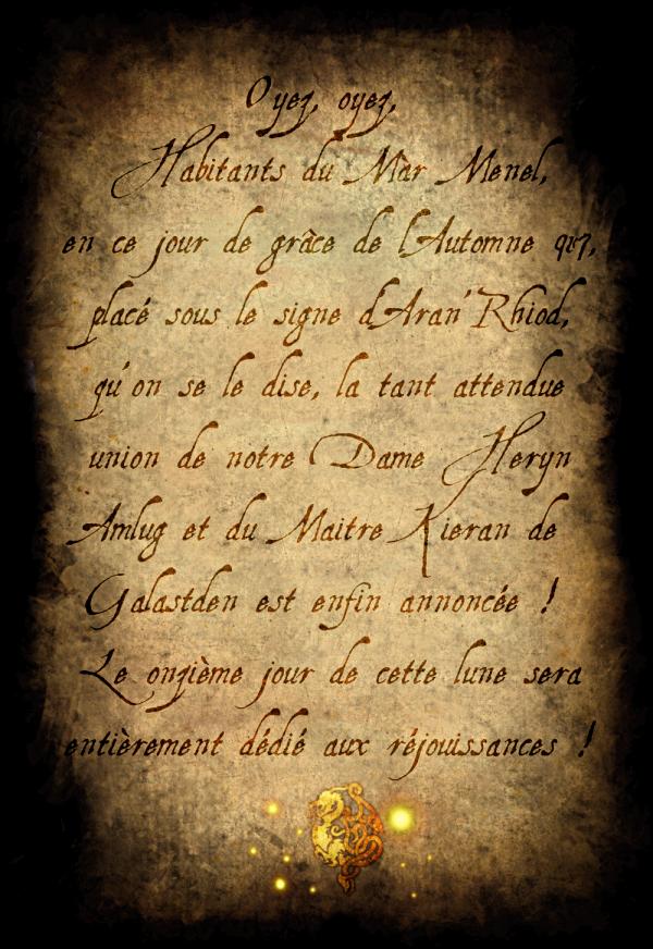 """V1 -Dans le prochain épisode de """"Màr Menel, le Kaerl Céleste"""" ... Publicationbans"""