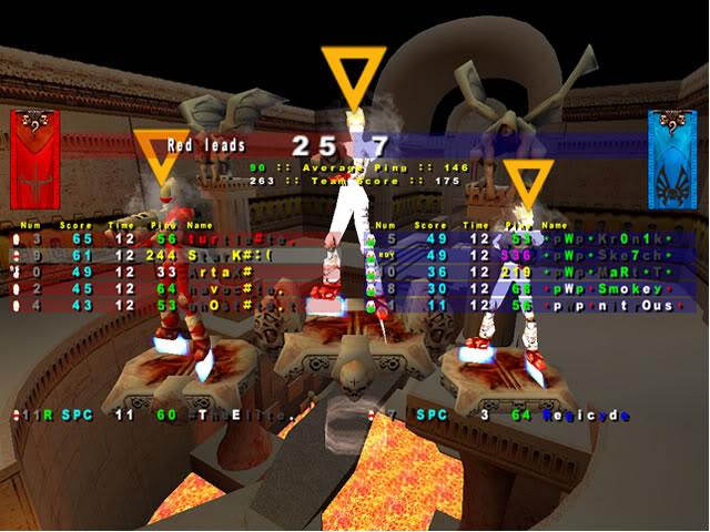 Back to Quake? TEScrim3