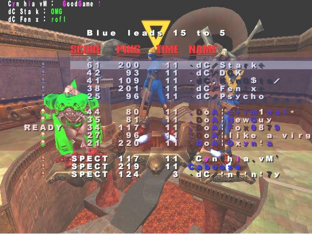 Back to Quake? VMScrim16