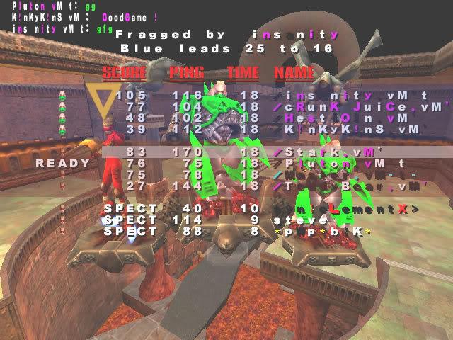 Back to Quake? VMScrim19