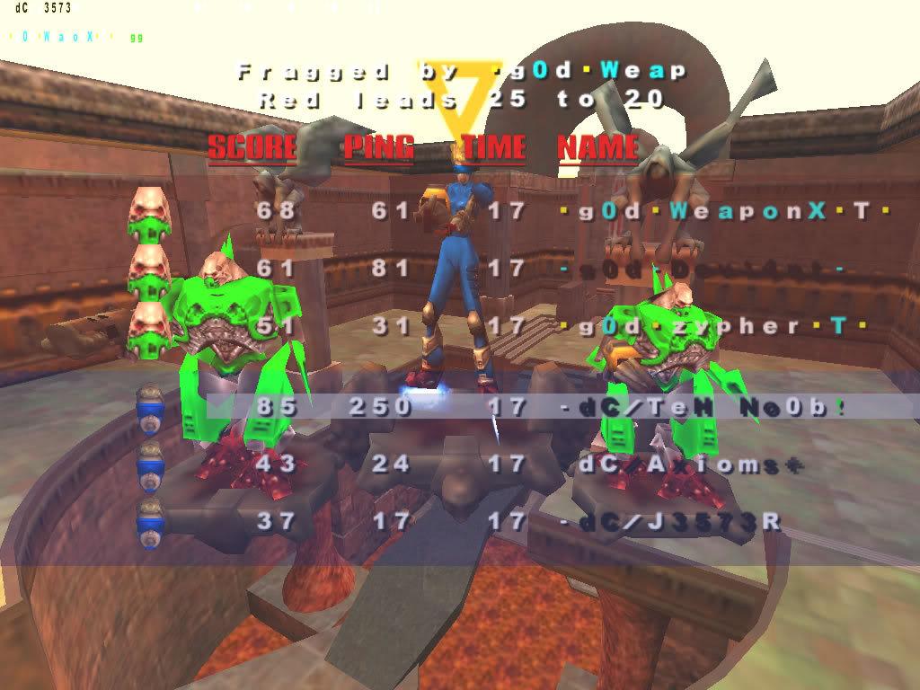 Back to Quake? VMScrim36