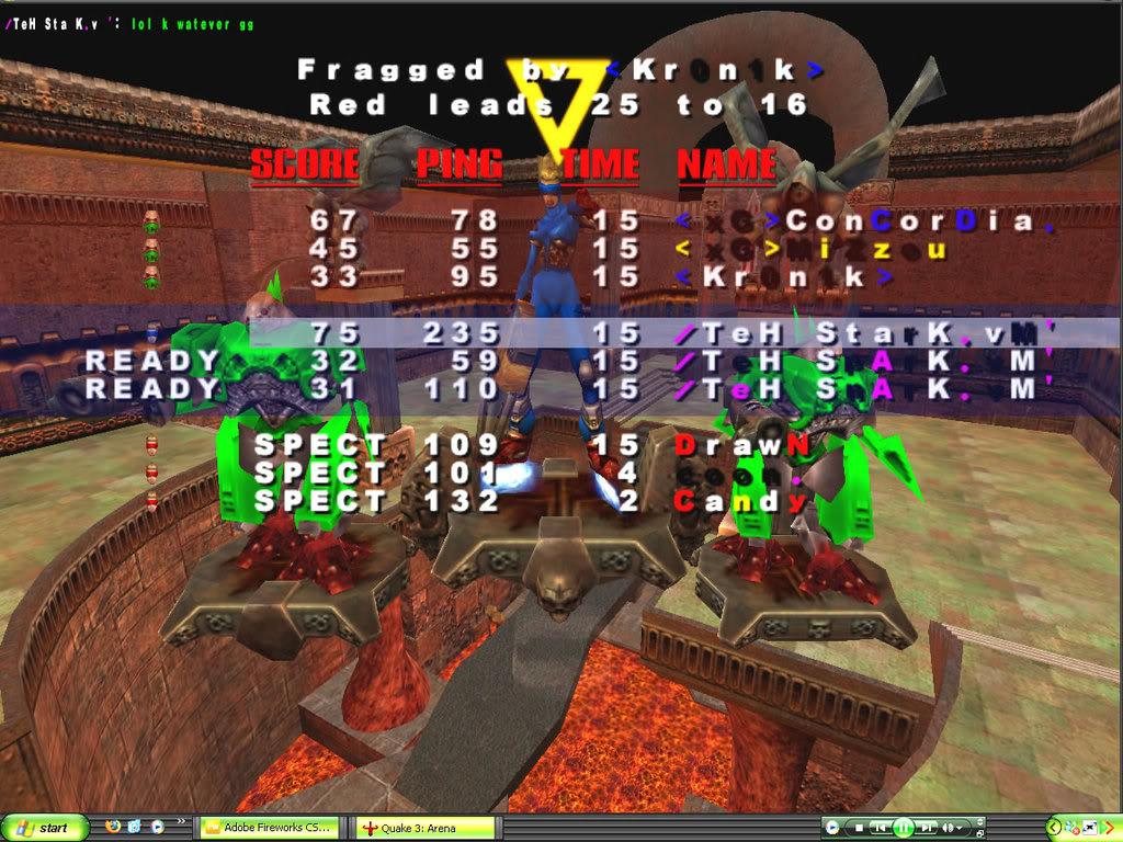 Back to Quake? VMScrim51